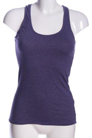 Amisu Camiseta sin mangas lila look casual