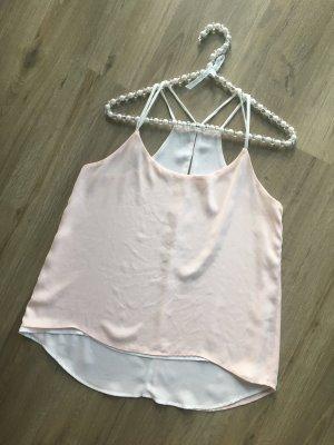 Amisu Camisoles natural white-nude polyester