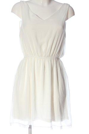 Amisu Trägerkleid weiß Elegant