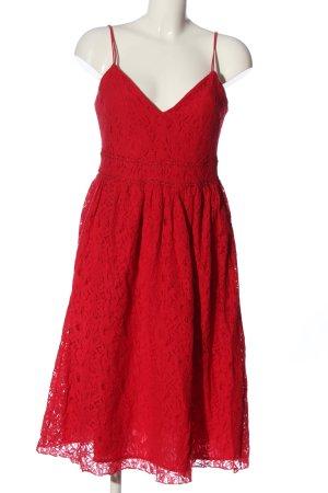 Amisu Trägerkleid rot Casual-Look