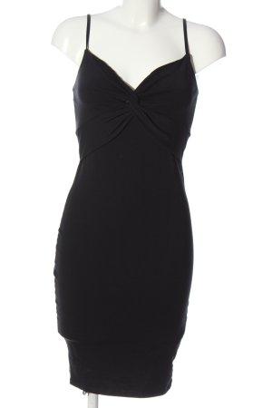 Amisu Trägerkleid schwarz Elegant