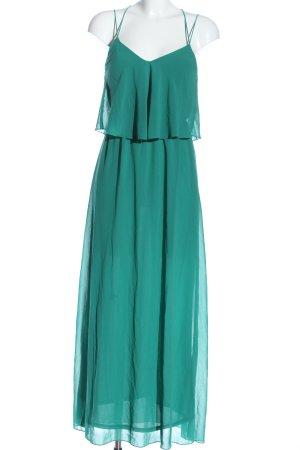 Amisu Pinafore dress turquoise elegant