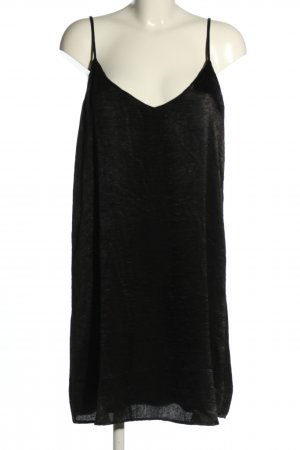 Amisu Pinafore dress black casual look