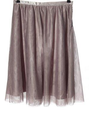 Amisu Falda de tul gris claro look casual