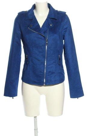 Amisu Übergangsjacke blau Casual-Look