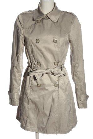 Amisu Between-Seasons-Coat natural white casual look