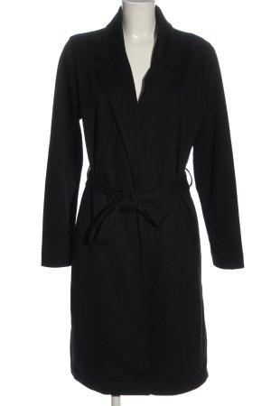 Amisu Płaszcz przejściowy czarny W stylu casual