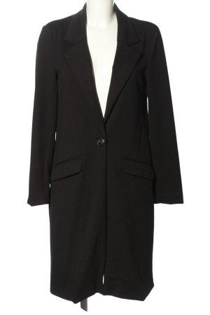 Amisu Übergangsmantel schwarz Elegant