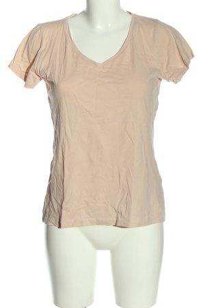 Amisu V-Ausschnitt-Shirt nude Casual-Look