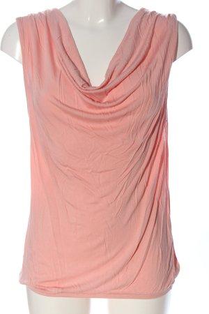 Amisu Top col bénitier rose style décontracté
