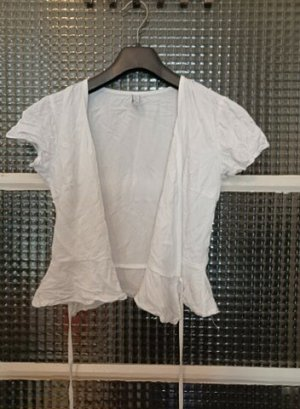 Amisu Wraparound Blouse white