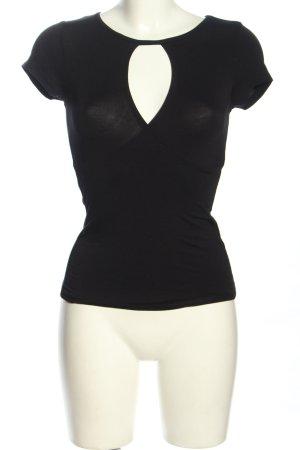 Amisu Cache-coeur noir style classique