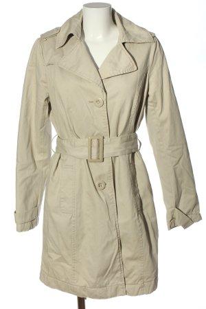 Amisu Manteau d'hiver blanc cassé style décontracté