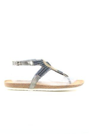 Amoa Romeinse sandalen veelkleurig elegant