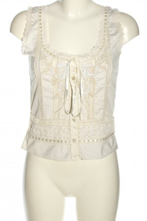 Amor & Psyche Blouse topje wolwit casual uitstraling