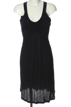 Amor & Psyche Jerseykleid schwarz Elegant