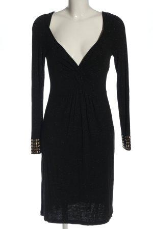 Amor & Psyche Longsleeve Dress black elegant