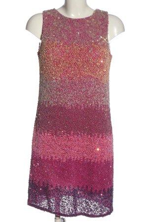Amor & Psyche Robe courte rose-violet élégant