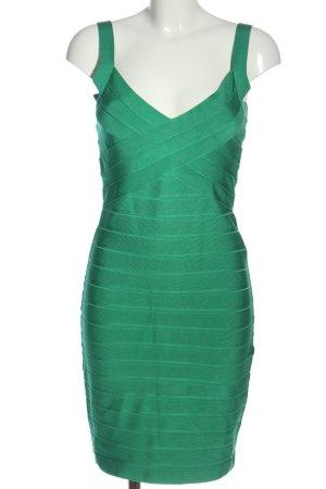 Amor & Psyche Robe courte vert motif rayé style décontracté