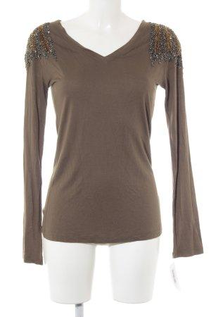 Amor & Psyche V-hals shirt veelkleurig