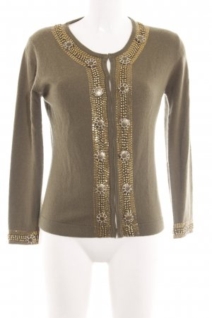 Amor & Psyche Cardigan bronze-colored casual look