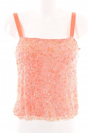 Amor & Psyche Strappy Top light orange casual look