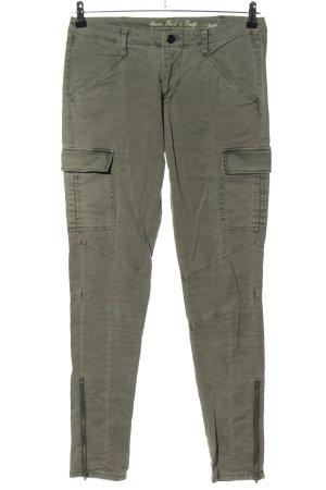 Amor, Trust & Truth Pantalon cargo kaki style décontracté