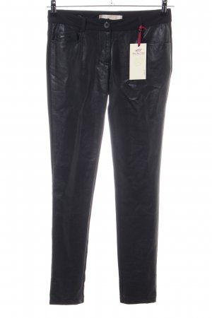 Amor, Trust & Truth Five-Pocket Trousers black extravagant style