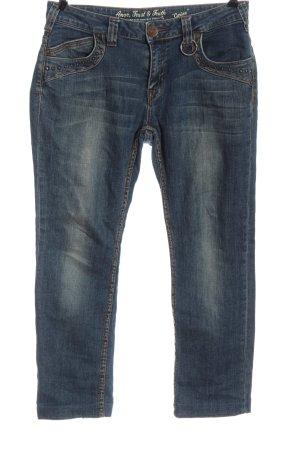 Amor, Trust & Truth Slim Jeans blau Casual-Look