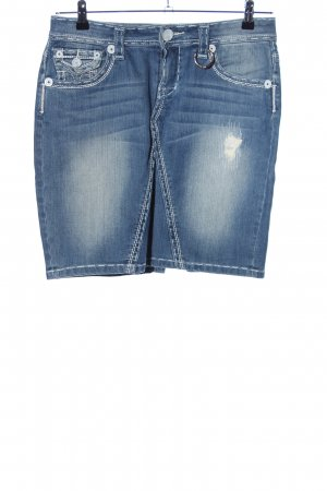 Amor, Trust & Truth Denim Skirt blue casual look