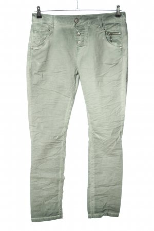Amor, Trust & Truth Drainpipe Trousers green casual look