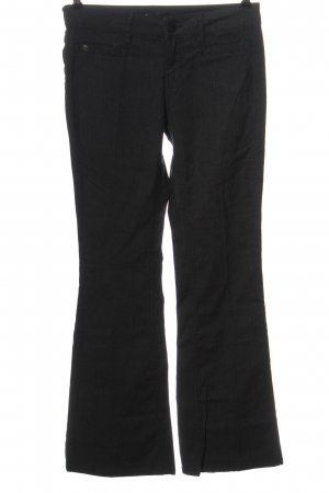 Amor, Trust & Truth Pantalon pattes d'éléphant noir style décontracté