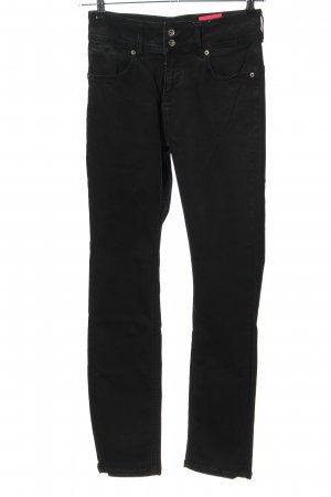 Amor, Trust & Truth Slim Jeans schwarz Casual-Look