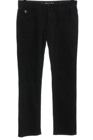 Amor, Trust & Truth Straight-Leg Jeans schwarz Casual-Look