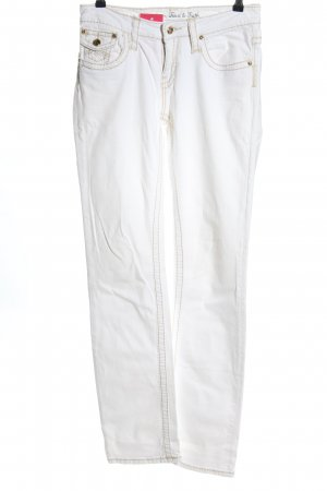 Amor, Trust & Truth Straight Leg Jeans white casual look