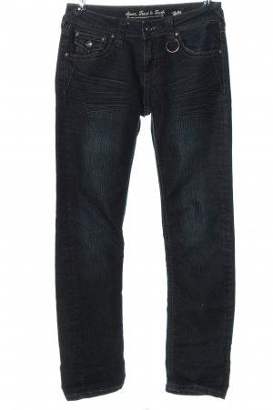 Amor, Trust & Truth Straight-Leg Jeans blau Casual-Look