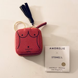 Amorelie x iPHORIA Portemonnaie Geldbörse kleine Tasche pink