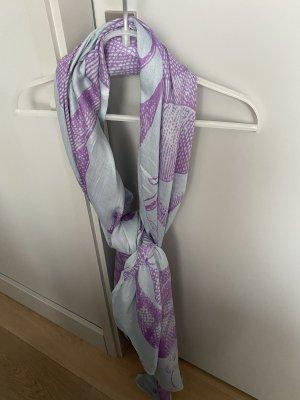Amorph Tube Scarf purple-azure