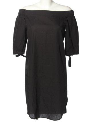 Amorph Robe épaules nues noir style décontracté