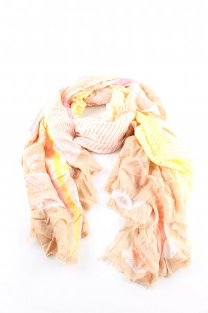 Amorph Summer Scarf striped pattern casual look