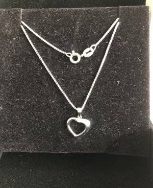 Amour by Love Collier Necklace silver-colored
