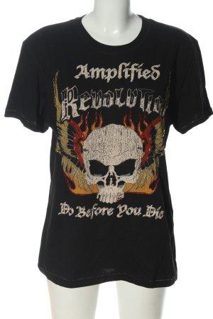 Amplified T-shirt prints met een thema casual uitstraling