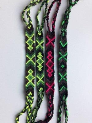 Friendship Bracelet multicolored new wool