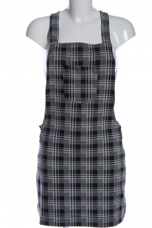 Amy & Ivy Pinafore Overall Skirt check pattern casual look