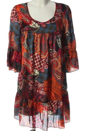 Amy Vermont Sukienka typu babydoll Abstrakcyjny wzór W stylu casual