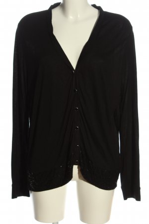 Amy Vermont Cardigan schwarz Casual-Look