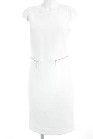 Amy Vermont Sukienka etui w kolorze białej wełny Elegancki
