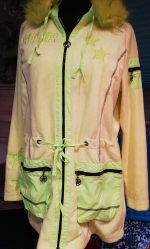Amy Vermont Long Jacket neon yellow