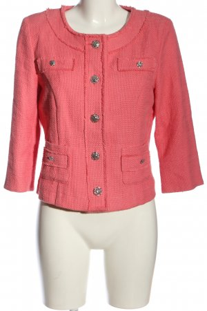 Amy Vermont Short Blazer pink casual look
