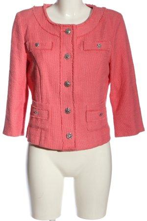 Amy Vermont Blazer corto rosa stile casual